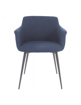 Moes RONDA ARM CHAIR BLUE-M2