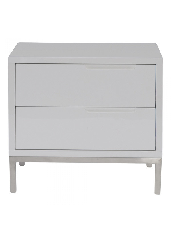 Moes NAPLES SIDE TABLE WHITE