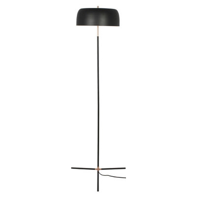 Moe's Home Collection Barrett Floor Lamp Black