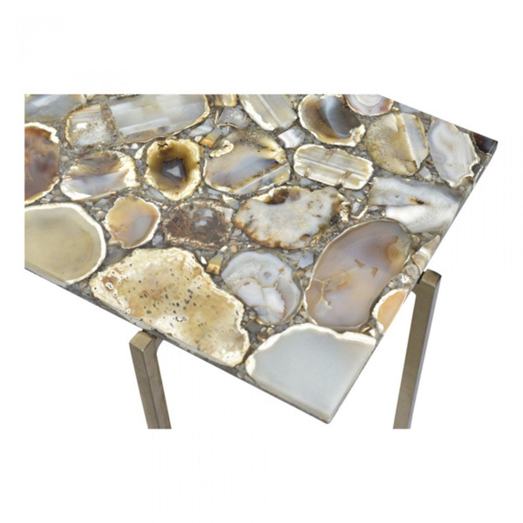 Moe's Home Collection AGATE CONSOLE TABLE
