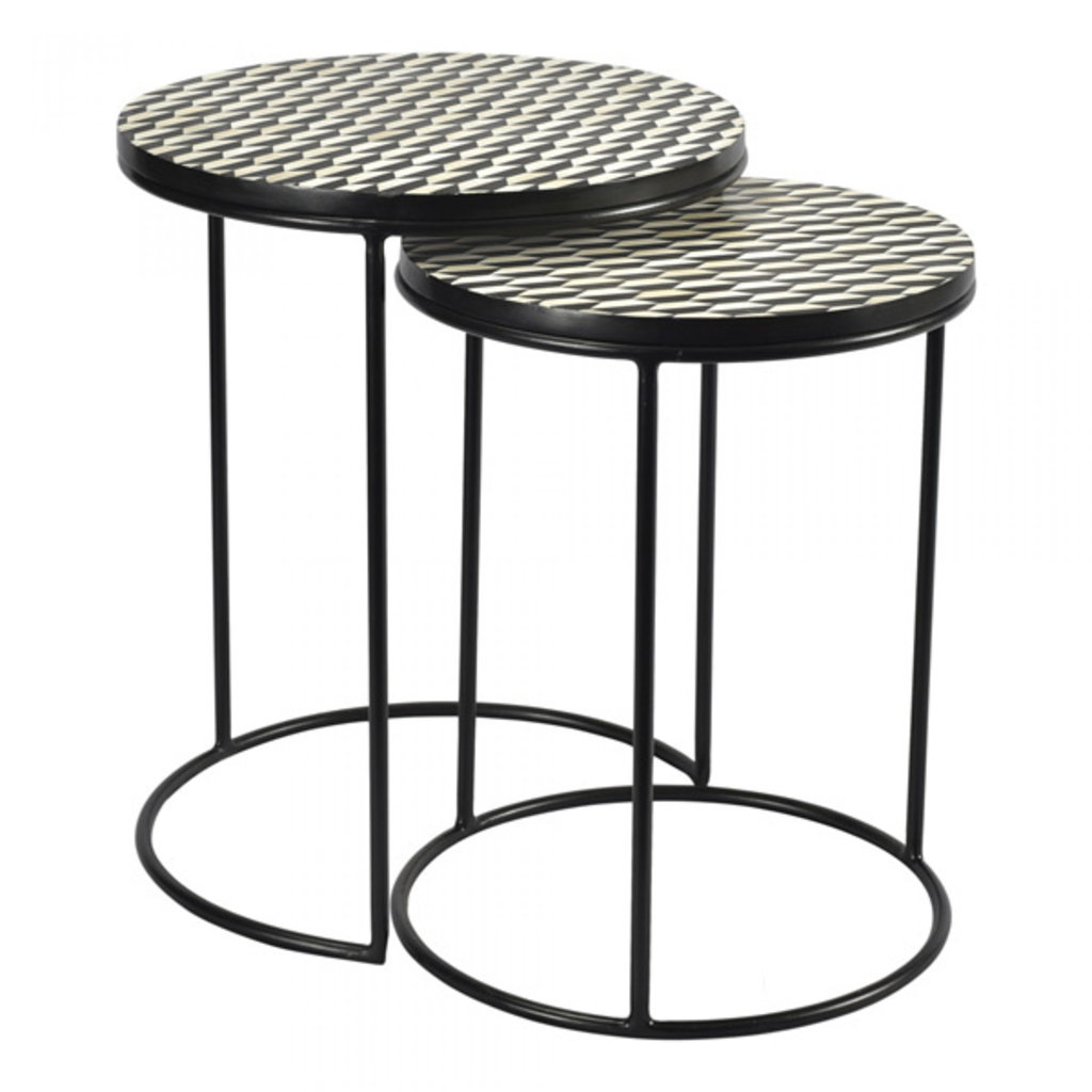 Moe's Home Collection Optic Nesting Tables Set Of 2