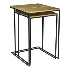 Moe's Home Collection Rivet Nesting Tables Set of 2