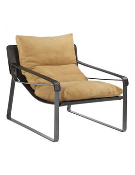 Moes CONNOR CLUB CHAIR TAN