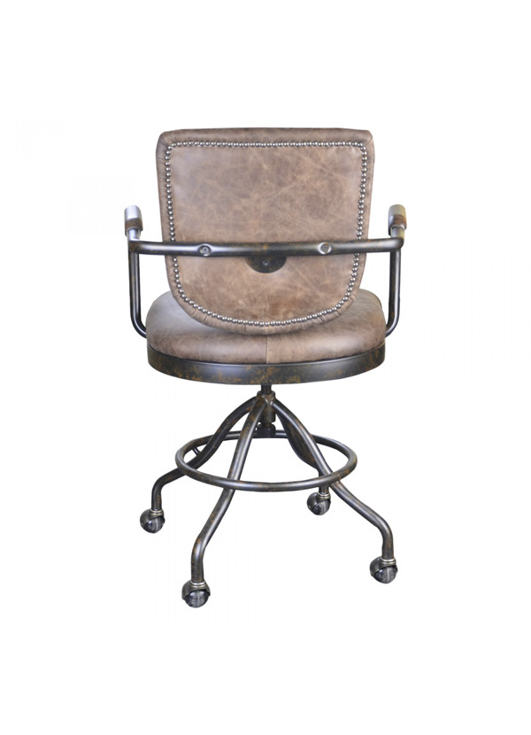 Moes FOSTER SWIVEL DESK CHAIR - SOFT BROWN