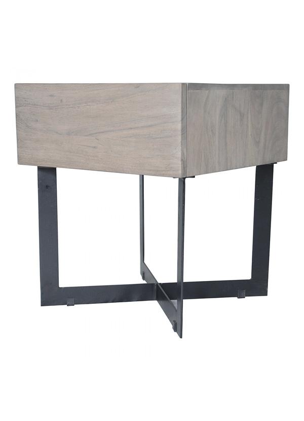 Moes TIBURON SIDE TABLE BLUSH