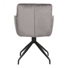 Moe's Home Collection Cavazzi Swivel Chair Grey