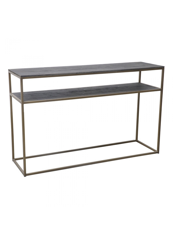 Moes STUDIO CONSOLE TABLE BRASS