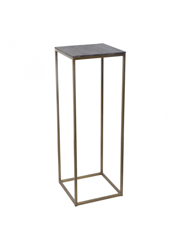 Moes STUDIO PLANT TABLES BRASS SET OF 2
