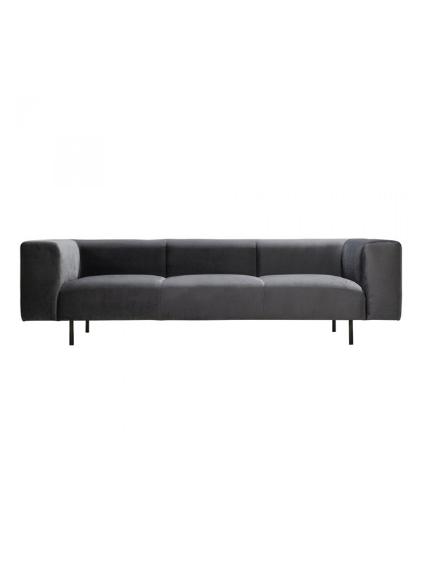 Moes ATWATER SOFA DARK GREY
