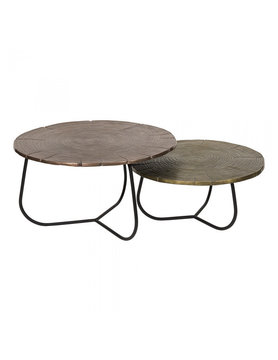 Moes CROSS SECTION TABLES SET OF 2