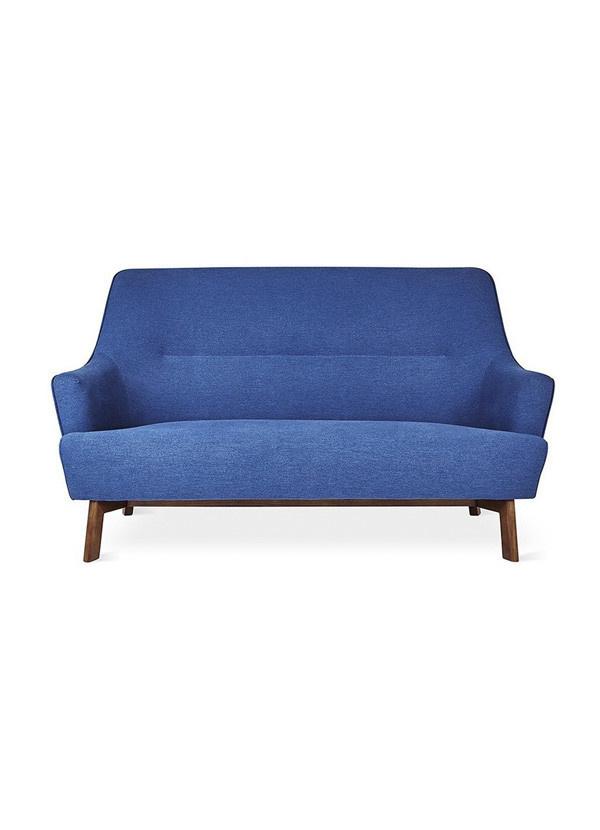 Gus Modern Hilary Loft Sofa Stockholm Cobalt