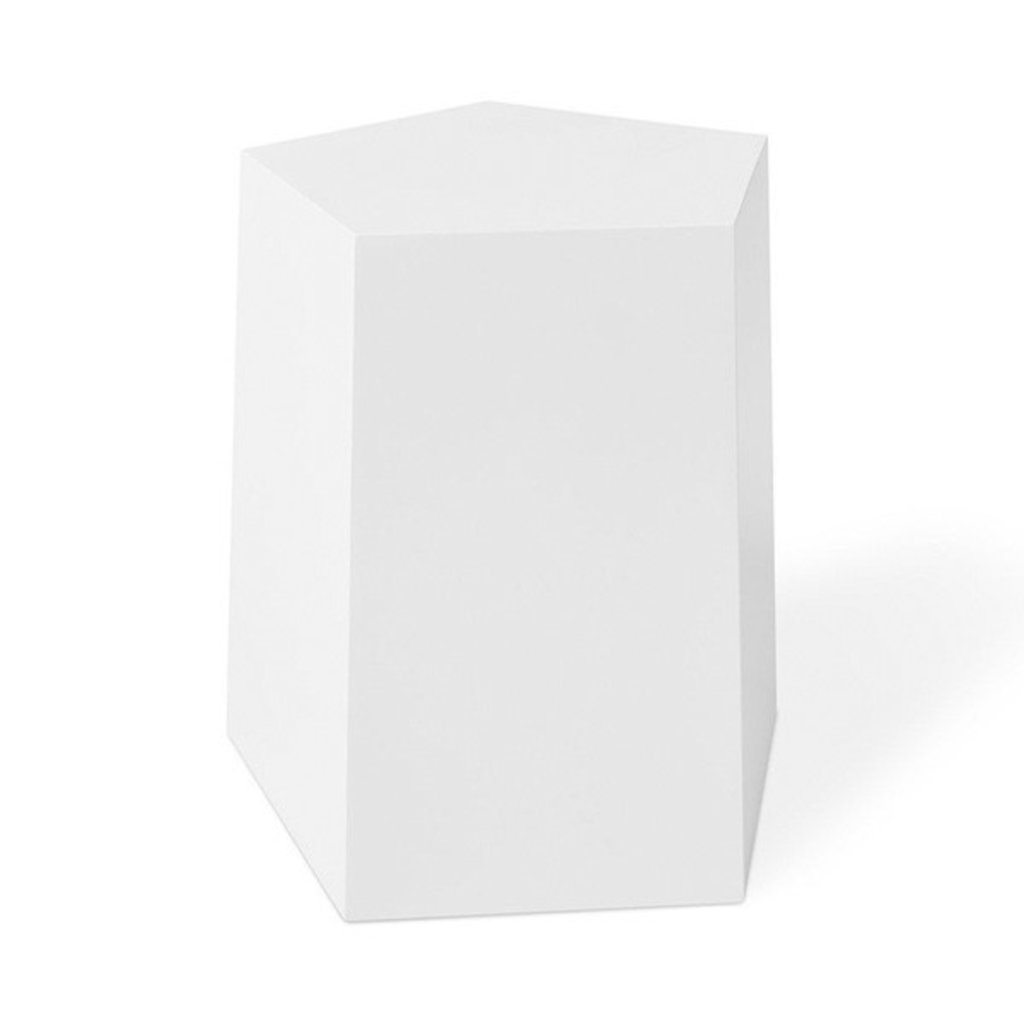Gus Modern Facet Table Matte White 7