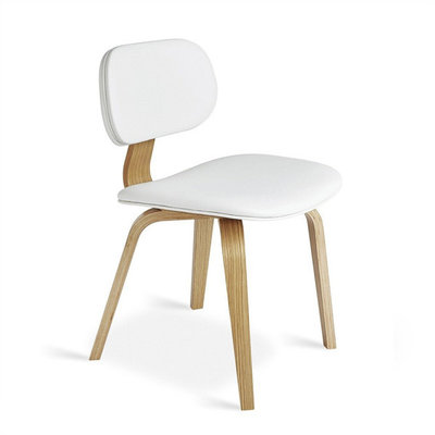 Gus Modern Thompson Chair Oak Natural White