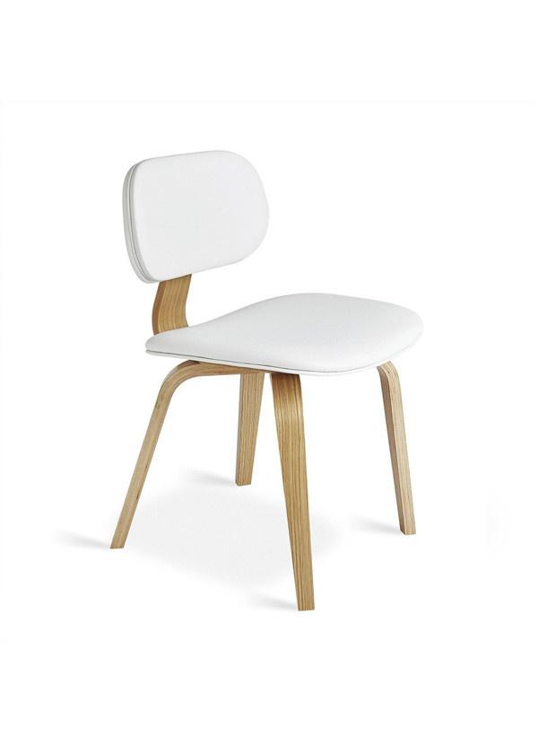 Gus Modern Thompson Chair Oak Natural White