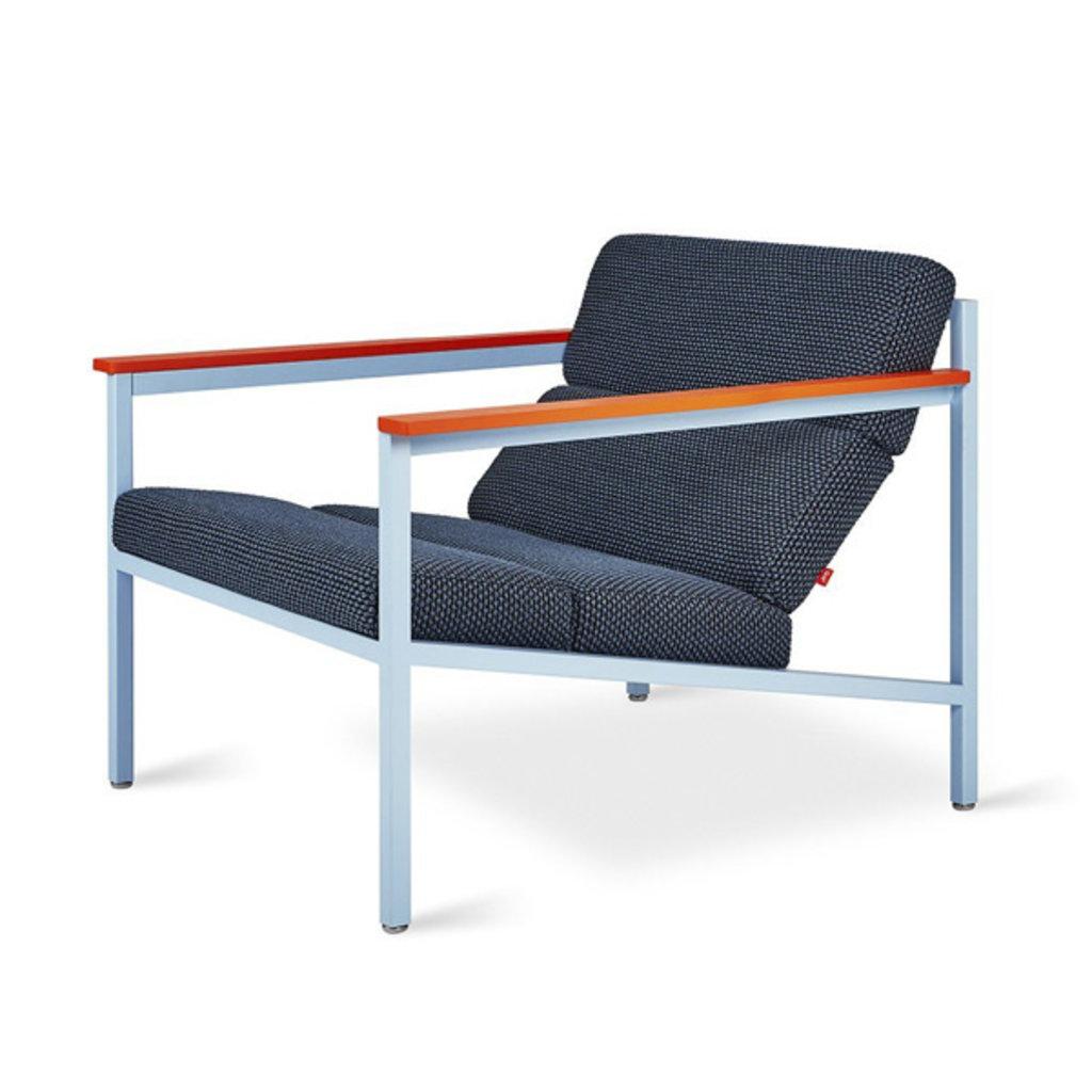 Gus Modern Halifax Chair Gus* x LUUM Orange Pop Module
