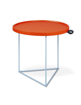 Gus Modern Porter End Table Gus* x LUUM Orange Pop Module