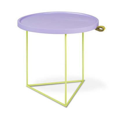 Gus Modern Porter End Table Gus* x LUUM Violet Pop Chatoyant