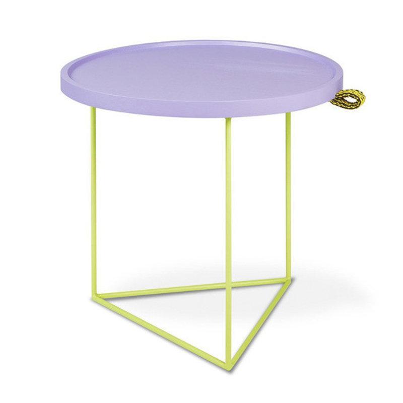 Gus Modern Porter End Table Gus* x LUUM Violet Pop Chatoyant