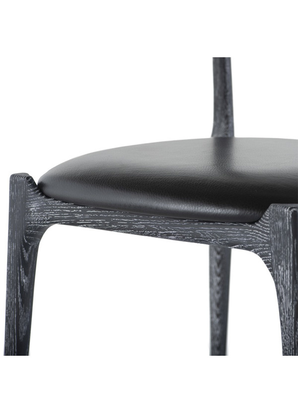 Nuevo Living ASSEMBLY CHAIR DINING CERUSED