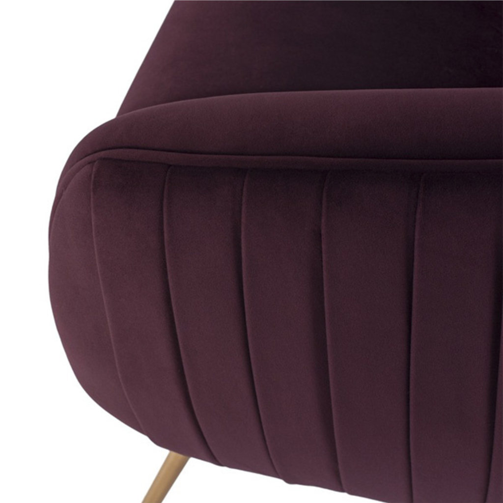 Nuevo Living Sofia Occasional Chair Mulberry