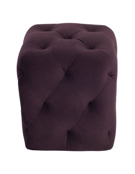 Nuevo Living TUFTY SQ OTTOMAN MULBERRY