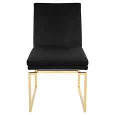 Nuevo Living Savine Dining Chair Black / Gold
