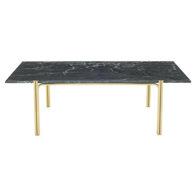 Nuevo Living Susser Coffee Table Green Marble with Gold