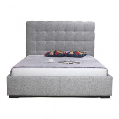 Belle Queen Storage Bed Light Gray