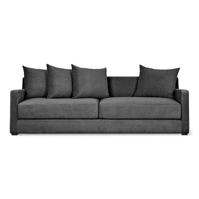 Gus Modern Flipside Sofa Bed Velvet Mercury