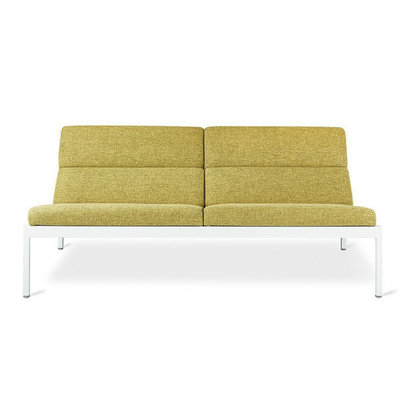 Gus Modern Fogo Loft Sofa White Powder Coat Bayview Dandelion