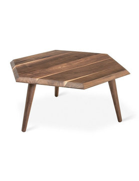 Gus Modern Metric Coffee Table Walnut