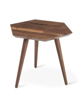 Gus Modern Metric End Table Walnut