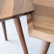 Gus Modern Metric End Table Walnut