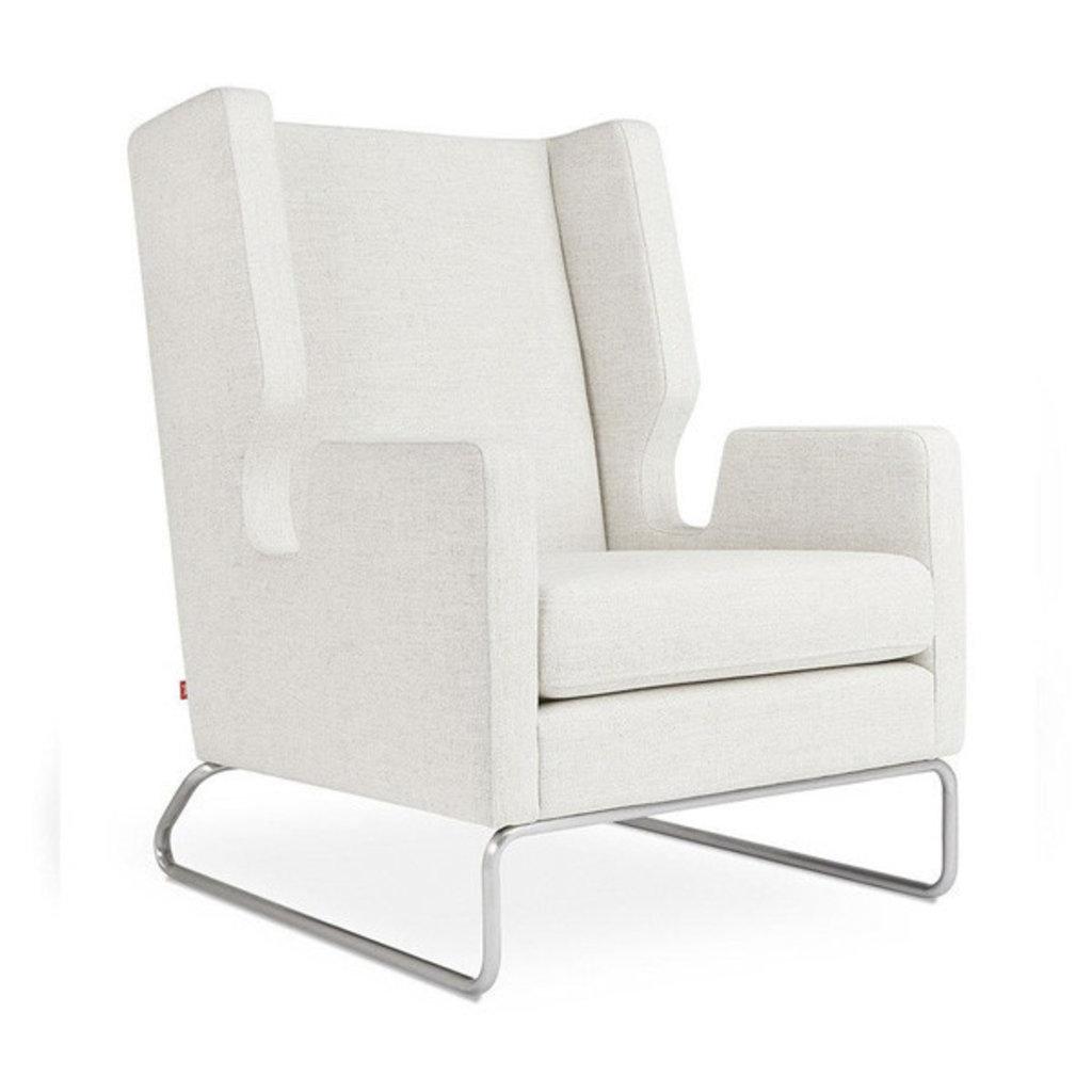 Gus Modern Danforth Chair Huron Ivory