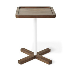 Gus Modern Axis End Table Walnut