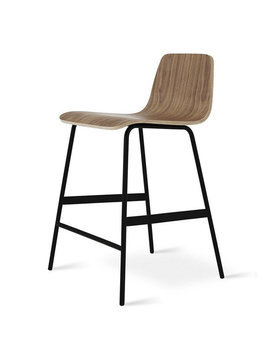 Gus Modern Lecture Counter Stool Walnut