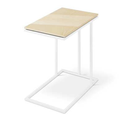 Gus Modern Tobias Nesting Table Blonde Ash White