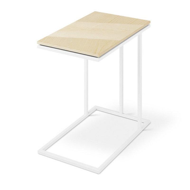 Gus Modern Tobias Nesting Table Blonde Ash White