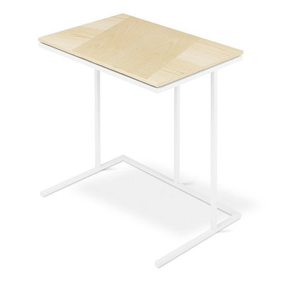 Gus Modern Tobias Network Table Blonde Ash White