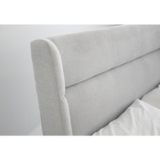 Mobital Storage BED Queen COVE Salt & pepper chenille