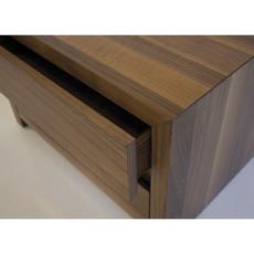 Mobital NIGHT table PORTER walnut/matte stone
