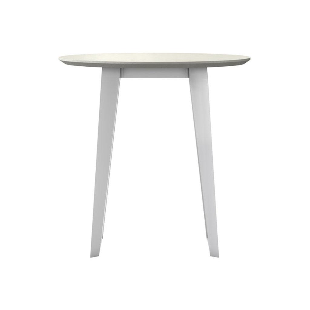 Modloft Amsterdam Counter Table White Sand Concrete