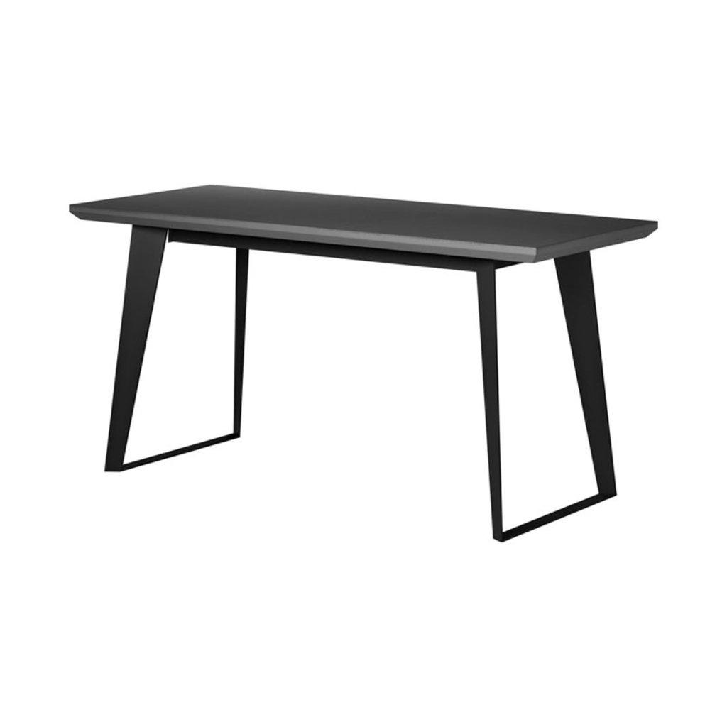 Modloft Amsterdam Desk Gray Concrete