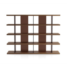Modloft Beekman Bookcase Walnut