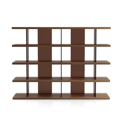 Modloft Beekman Bookcase Walnut