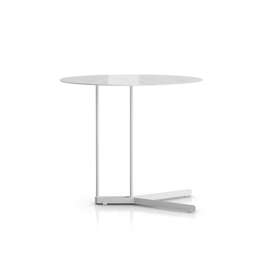 Modloft Cabrini Side Table Calacatta Marble