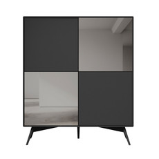 Modloft Christopher Highboard Asphalt