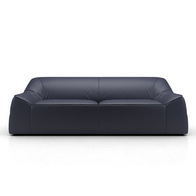 Modloft Cliff Sofa Navy Leather