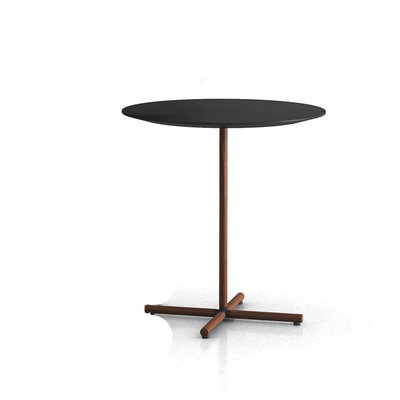 Modloft Highbury 20in. Side Table Black and Rosewood