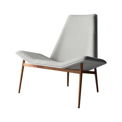 Modloft Kent Lounge Chair Raw Linen